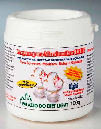 PREPARO PARA MARSHMELLOW DIET LIGHT  - PALAZZO DO DIET LIGHT