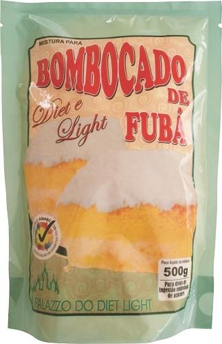 Bombocado de Fubá Diet Light (Mistura) - Família Doçurinha  - PALAZZO DO DIET LIGHT