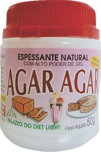 Espessante Natural Agar Agar - Família Doçurinha  - PALAZZO DO DIET LIGHT