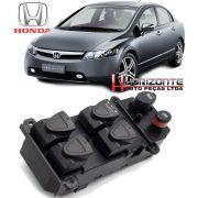 Comando Botão Interruptor Vidro Eletrico Honda New Civic 2006 à 2012