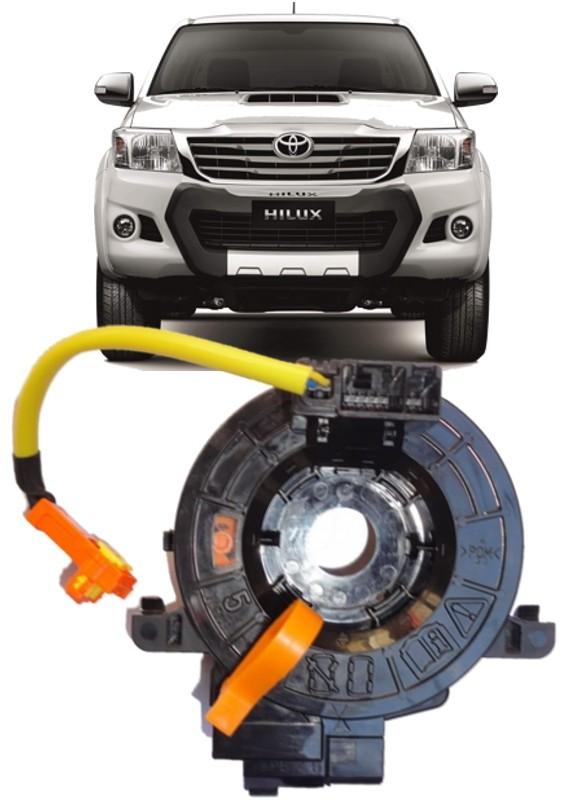 Cinta Airbag Hard Disc Toyota Hilux SRV e SW4 Após 2006 Todas Sem controle de som no volante