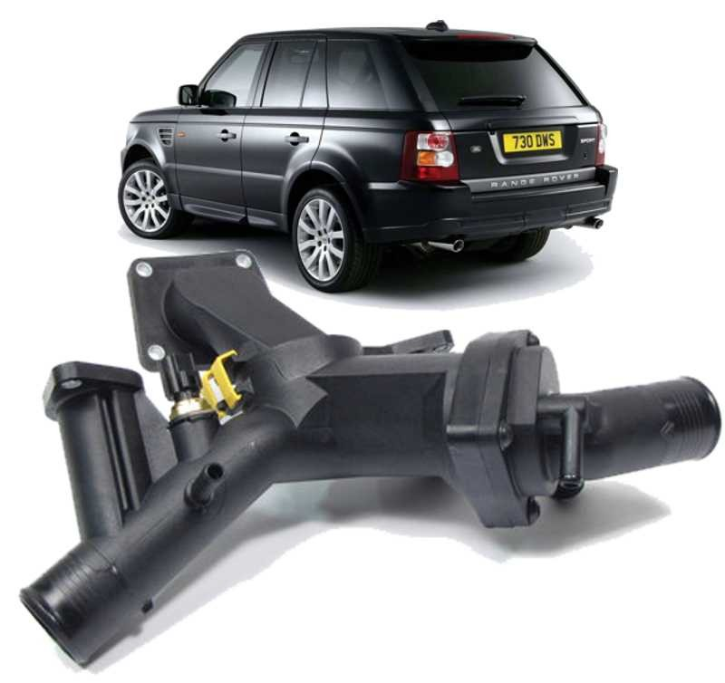 Valvula Termostatica Land Rover Range Rover Sport 4.4 e Discovery 3 05/09