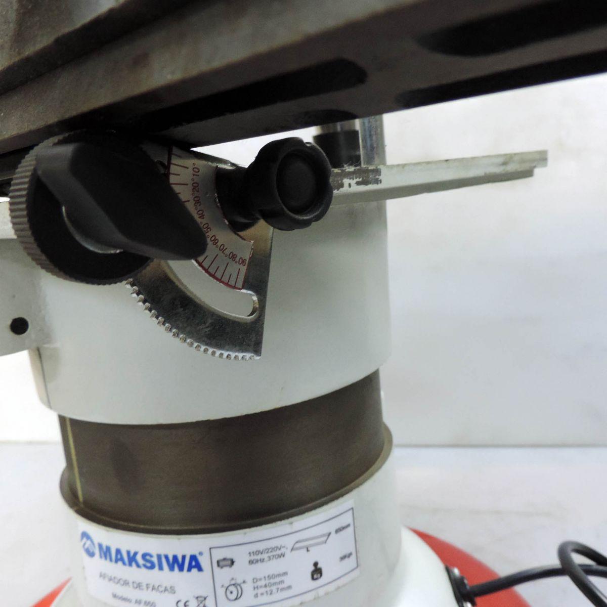 Afiador De Facas De Até 650mm - Af.650 - Maksiwa - Nova