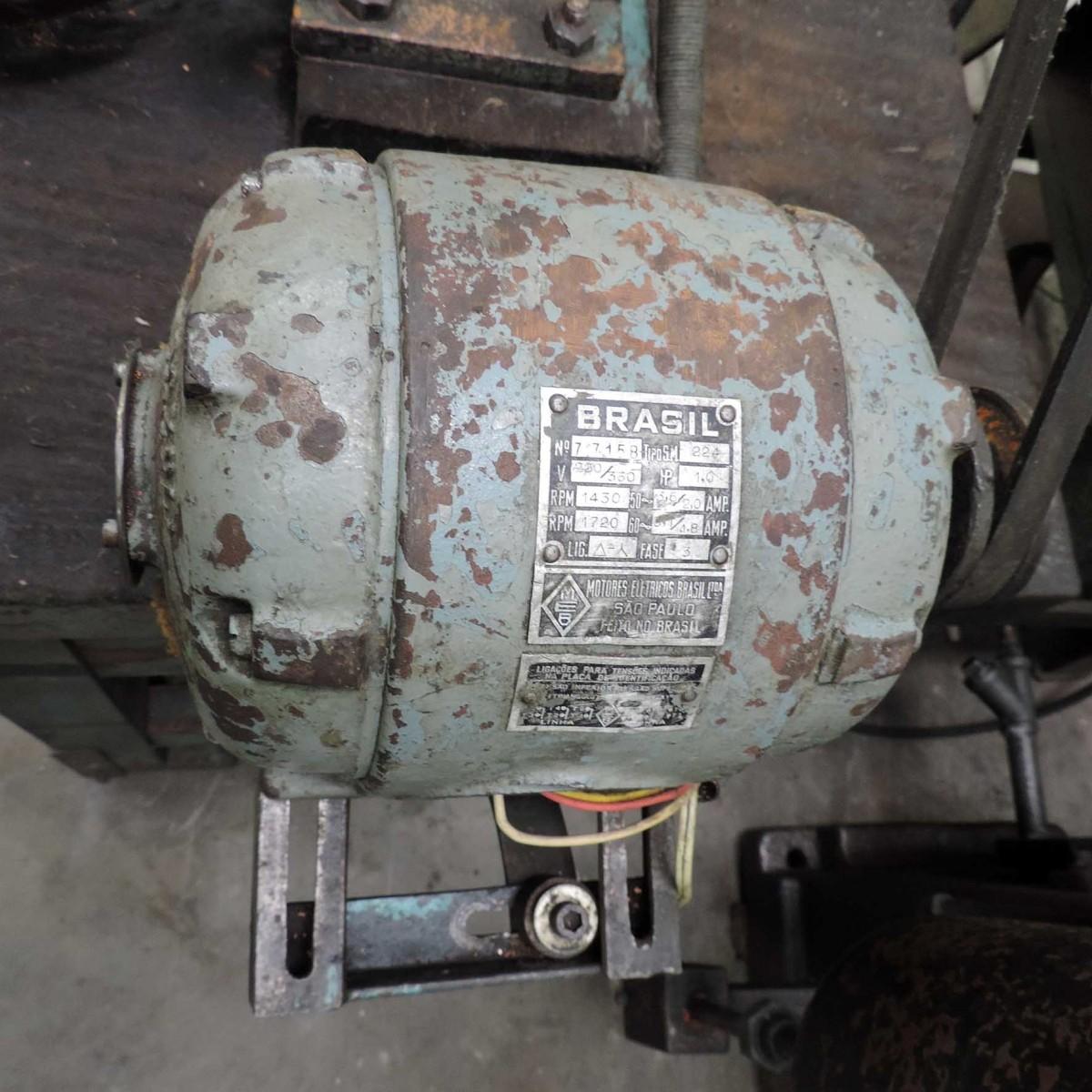 Afiadora / Fresadora - 1 Cv - 1450 Rpm 220 V - Usada