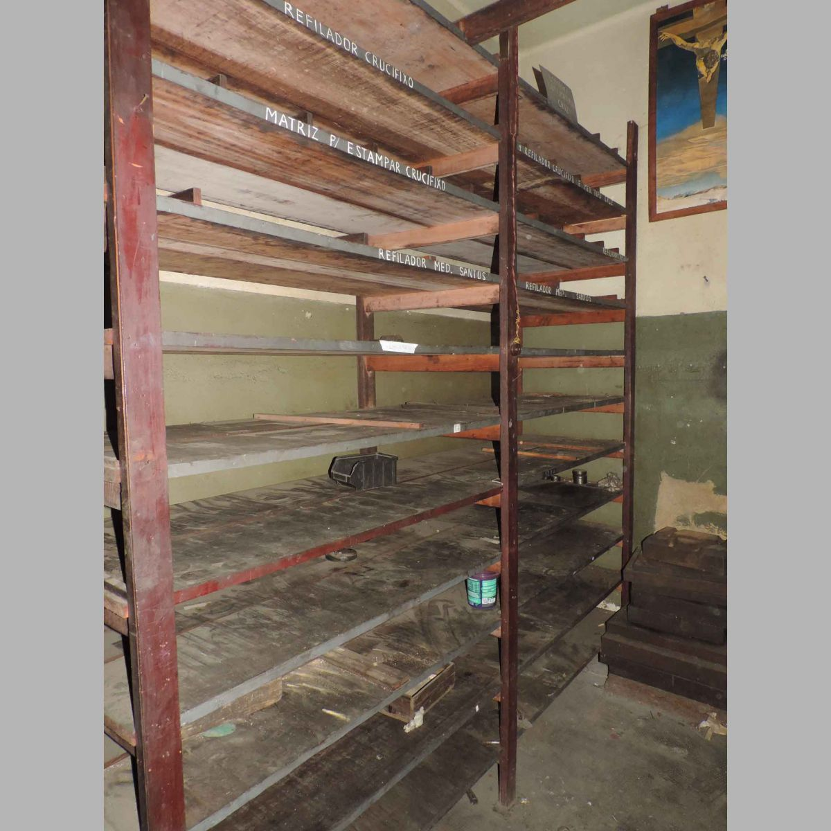 Prateleira Estante Industrial Reforçada Lg014
