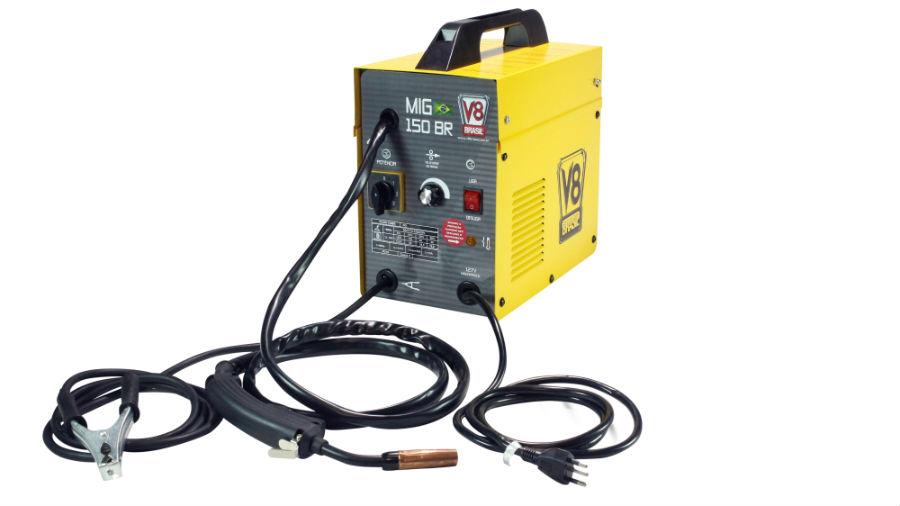 Solda MIG150 BR 127V ou 220V/60HZ - ELETRONICA