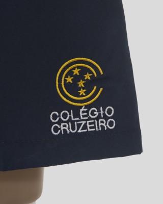 BERMUDA TACTEL AZUL MASCULINA COL. CRUZEIRO