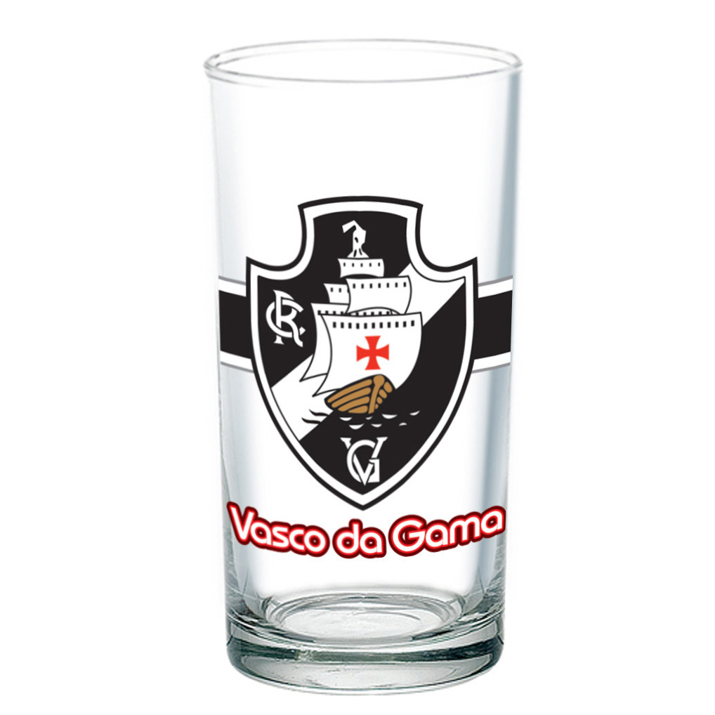 CONJUNTO 2 COPOS DO VASCO