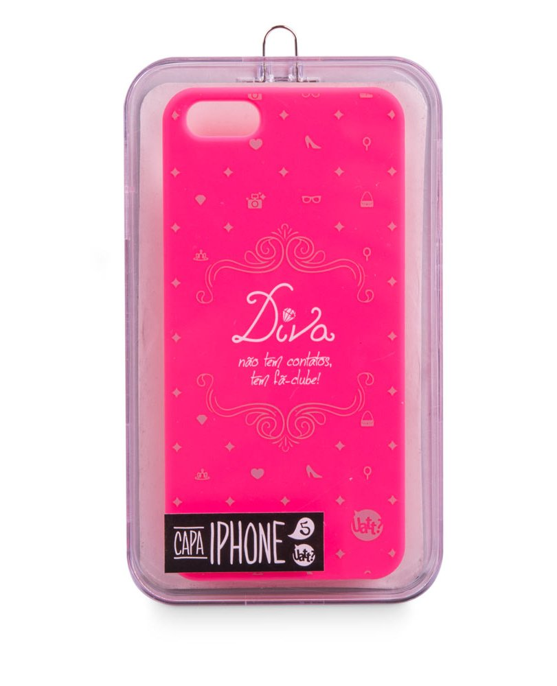CAPA DE IPHONE 5/5S DIVA
