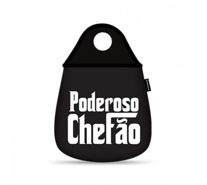 LIXEIRA PARA CARRO - PODEROSO CHEFÃO