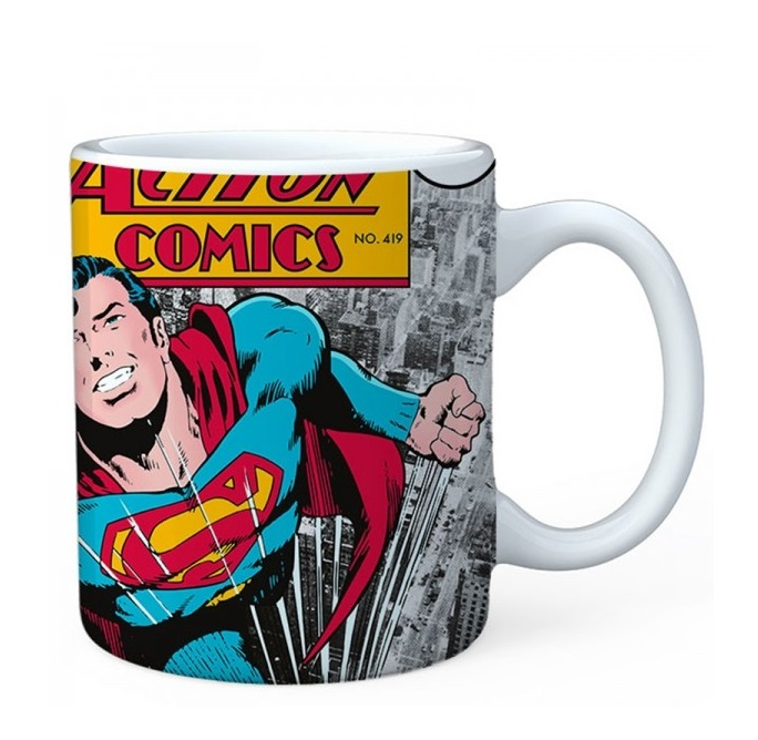 CANECA PORCELANA SUPERMAN