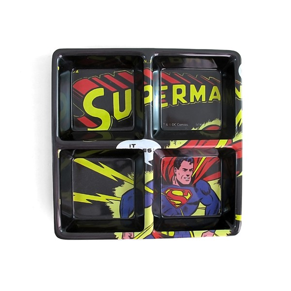 PETISQUEIRA QUADRADA SUPERMAN