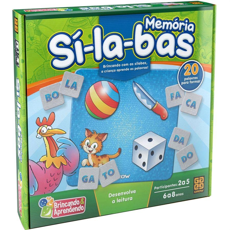 MEMÓRIA SÍLABAS