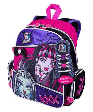 MOCHILA MÉDIA MONSTER HIGH 15Z