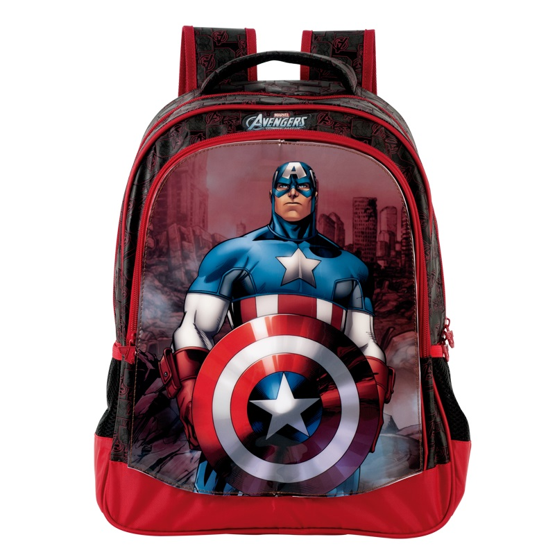 MOCHILA ADVENGERS TRIPLE ACTION