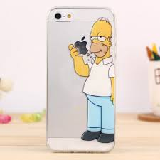 CAPA DE IPHONE HOMER SIMPSON