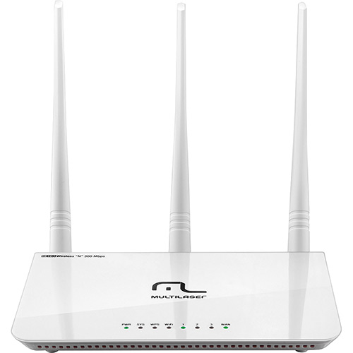 ROTEADOR WIRELESS 300 MBPS 3 ANTENAS