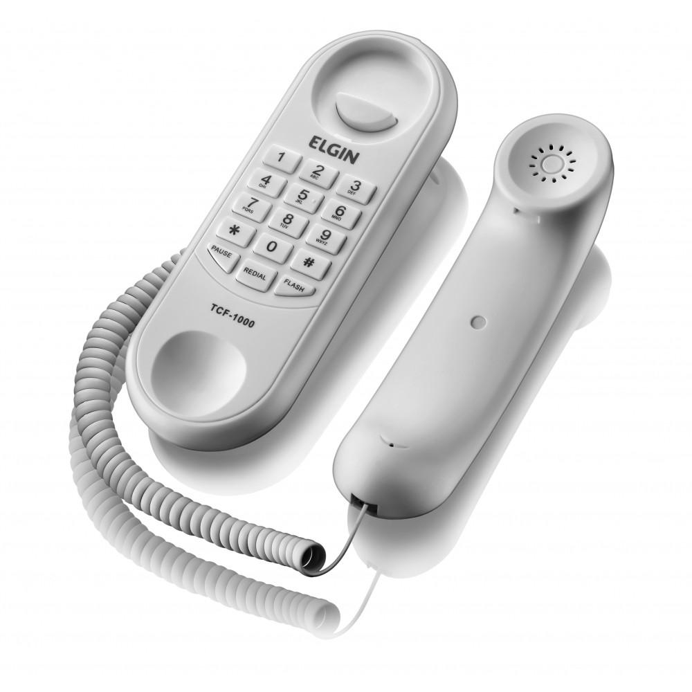 TELEFONE COM FIO TCF 1000