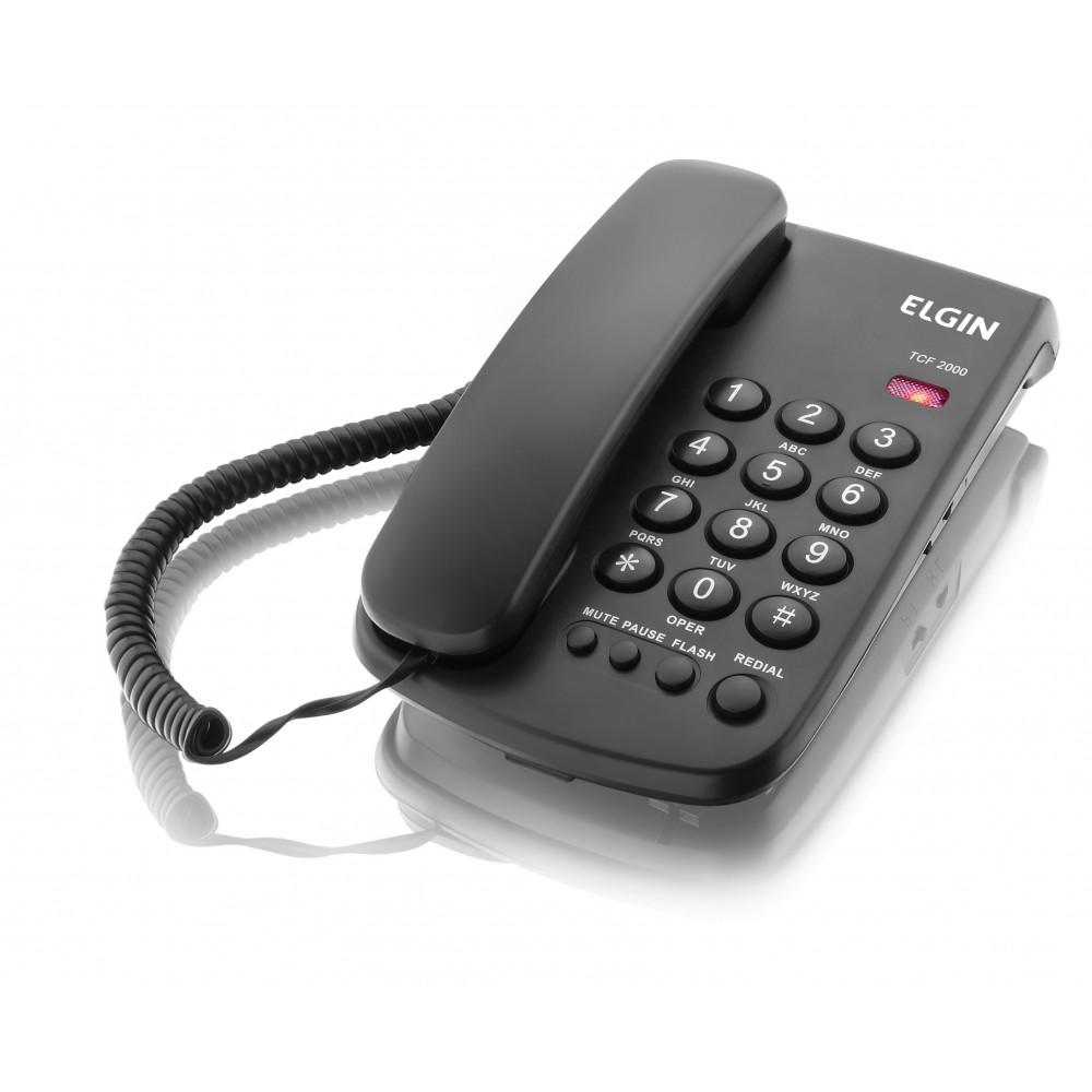TELEFONE COM FIO TCF 2000