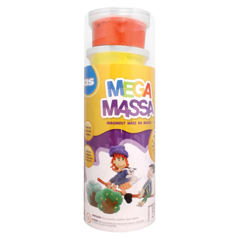 MEGA MASSA TUBO 6 POTES