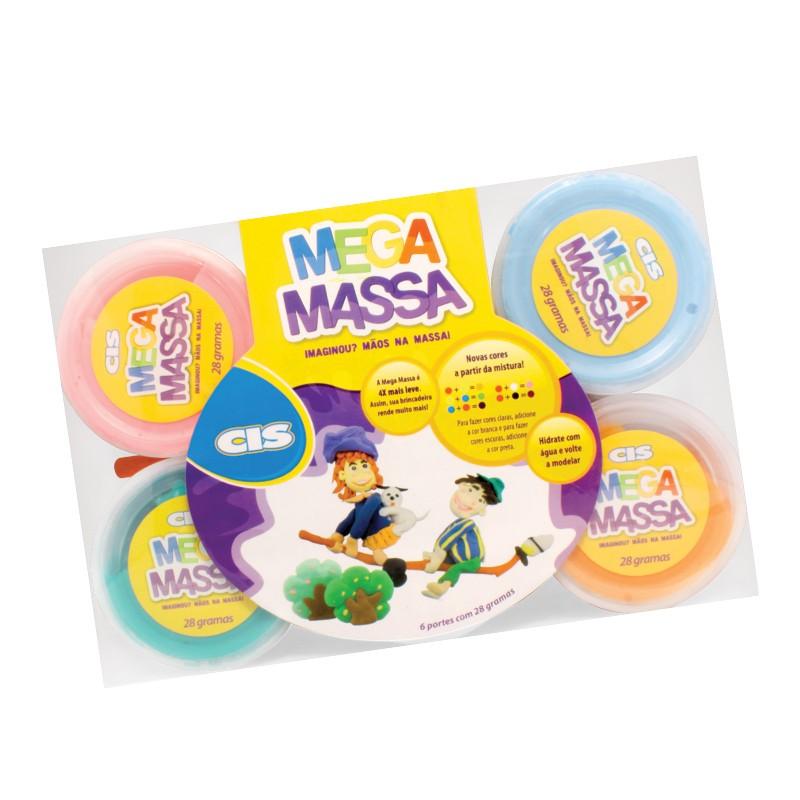 MEGA MASSA 6 POTES