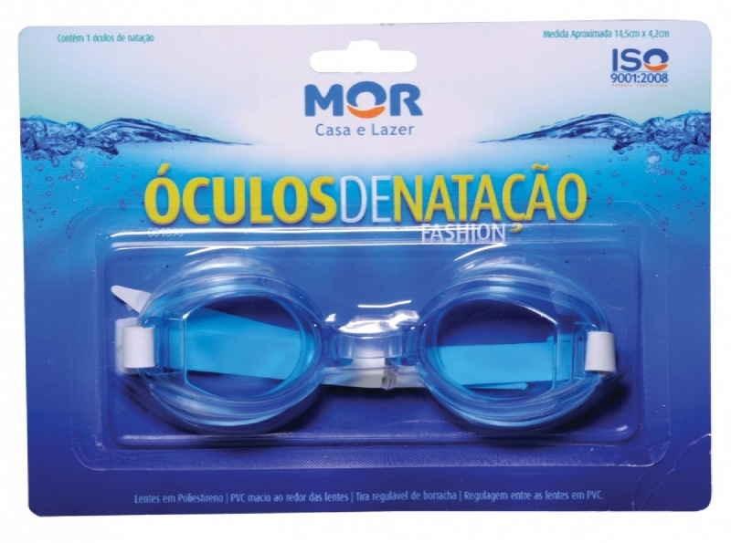 ÓCULOS DE NATAÇÃO FASHION AZUL