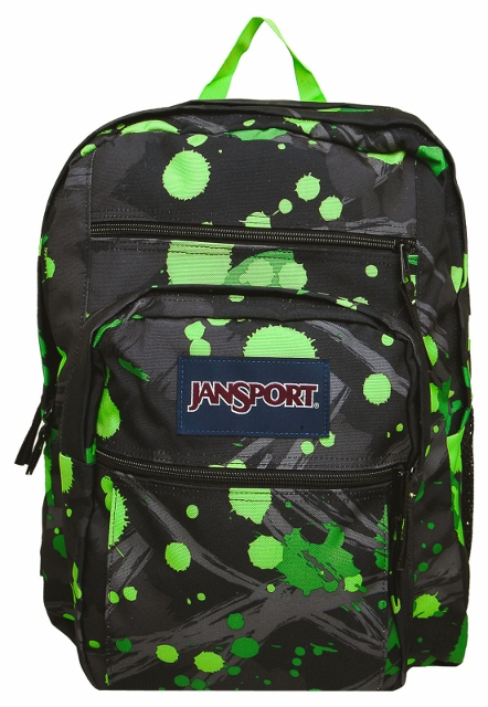 MOCHILA JANSPORT (BIG STUDENT ZPGRN SPR SPLSH)