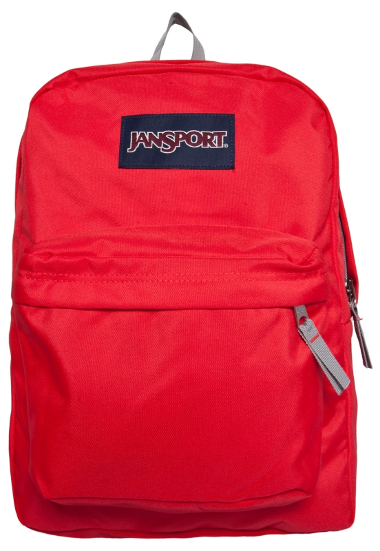 652443bd9 MOCHILA JANSPORT SUPERBREAK (FLUORESCENTE RED)