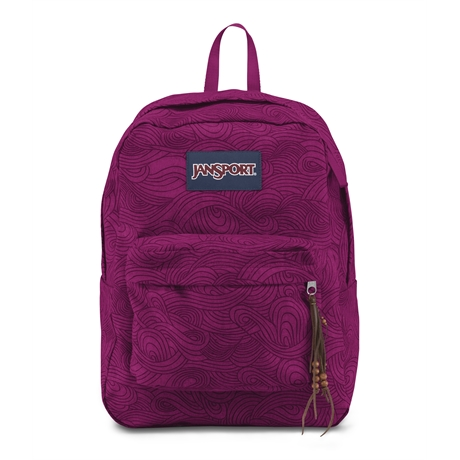 MOCHILA JANSPORT HIGH STAKES (BRYLCS PR SWRLS)