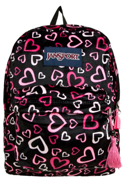 MOCHILA JANSPORT HIGH STAKES (PNKTULIPLOTLOVE)