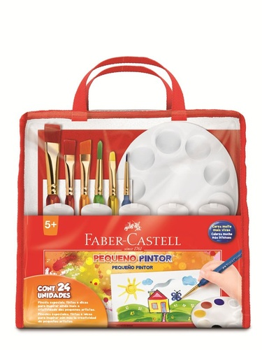 KIT PEQUENO PINTOR (FABER-CASTELL)