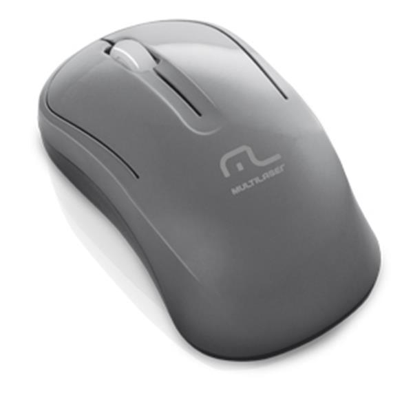 MOUSE OPTICO SEM FIO 2.4 GHZ. ECO GRAFITE USB