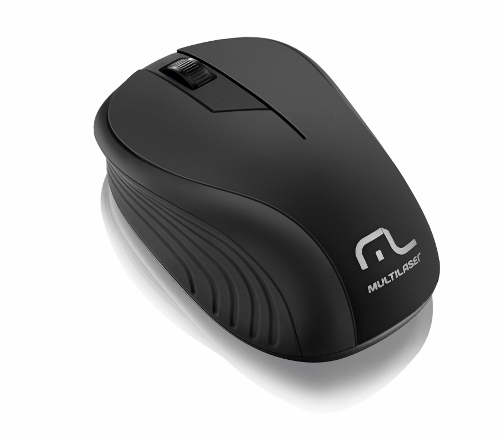 MOUSE OPTICO SEM FIO 2.4 GHZ. PRETO USB