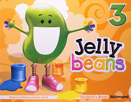 JELLY BEANS 3 - STUDENT'S BOOK (WITH CD-ROM)