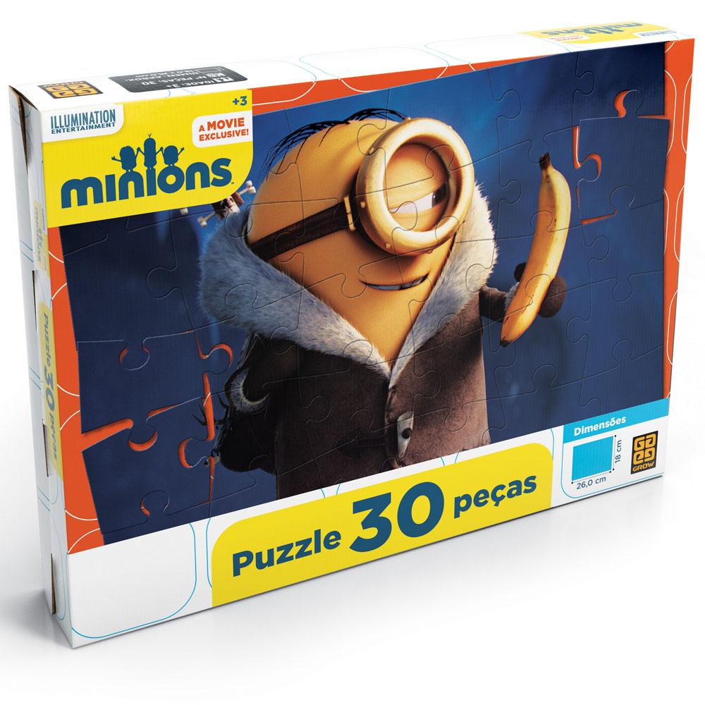MINIONS PUZZLE 30 PEÇAS
