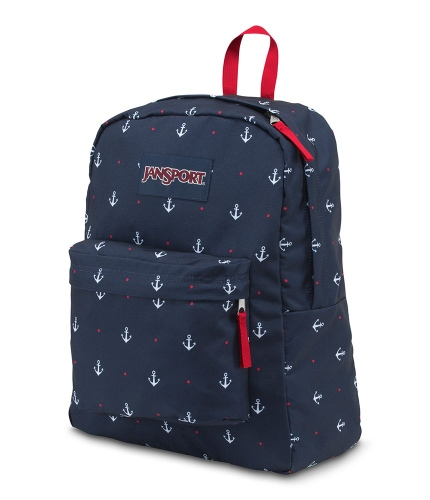 MOCHILA JANSPORT SUPERBREAK RED TAPE/LAND AHOY
