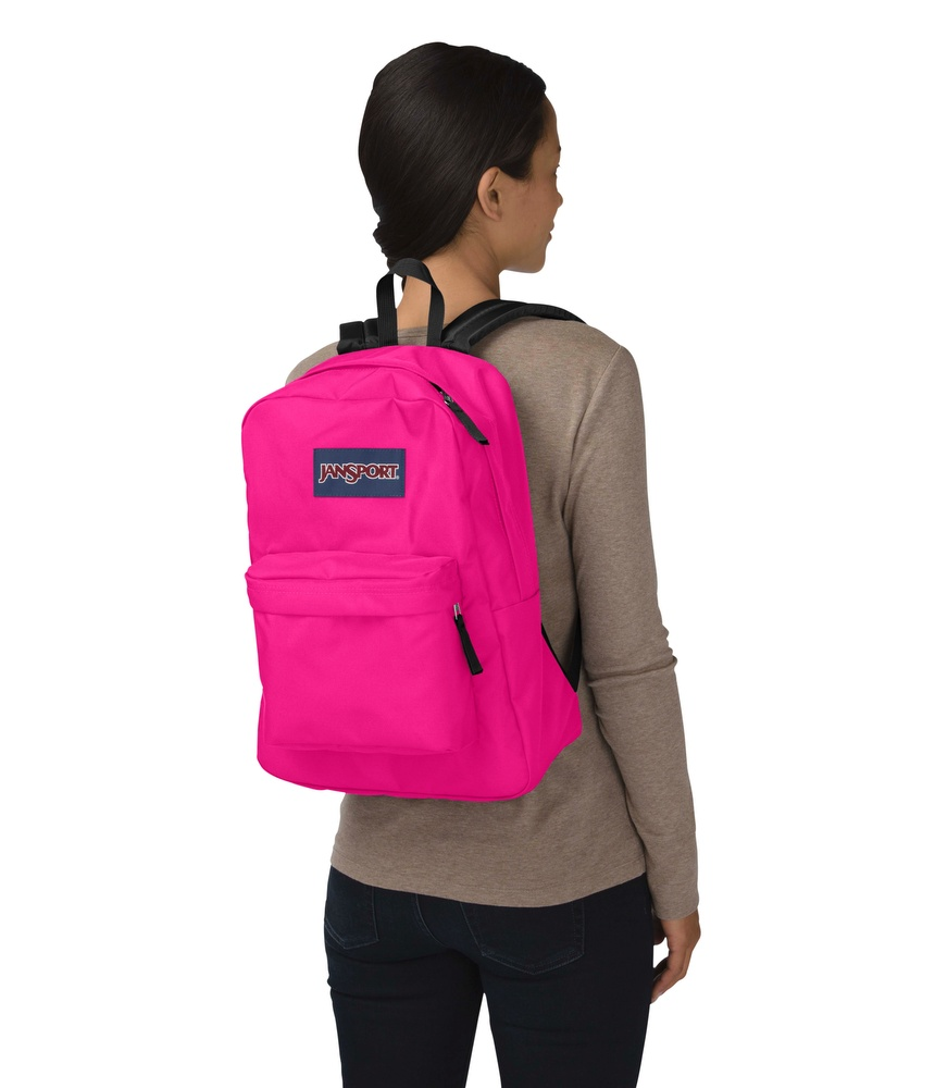 MOCHILA JANSPORT SUPERBREAK CYBER PINK