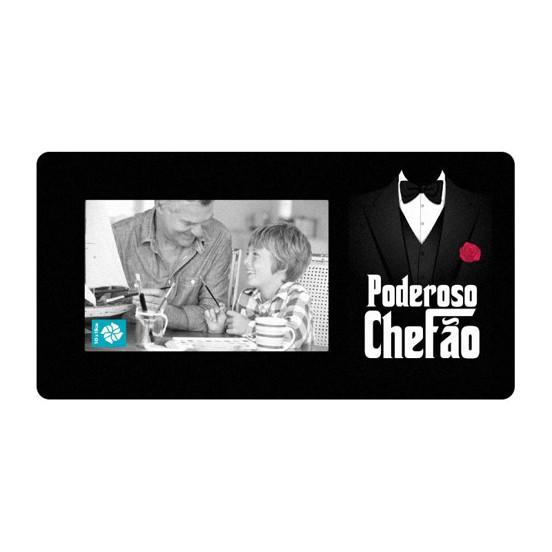 PORTA RETRATO 10X15 MDF PODEROSO CHEFÃO