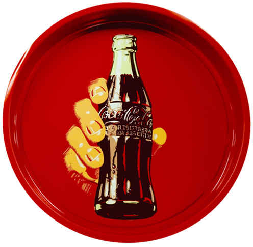 BANDEJA COCA- COLA TAKE A COKE