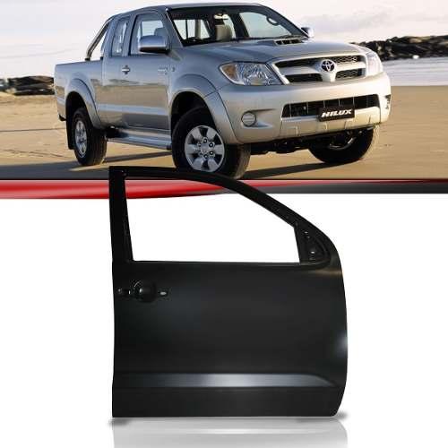 Porta Toyota Hilux 06/10 Dianteira Cabine Dupla Lado Esquerd