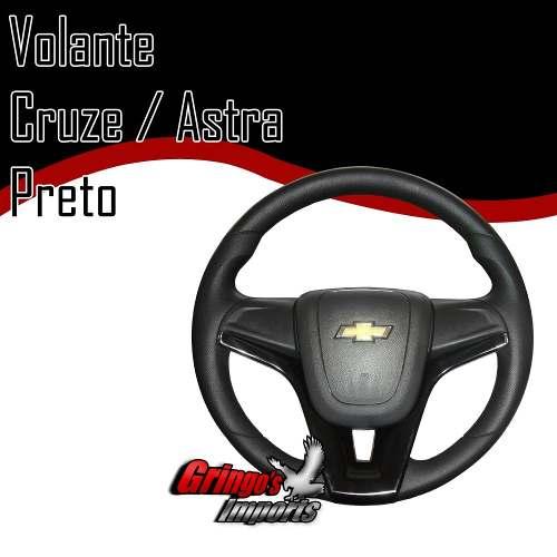 Volante Astra Modelo Cruze Preto
