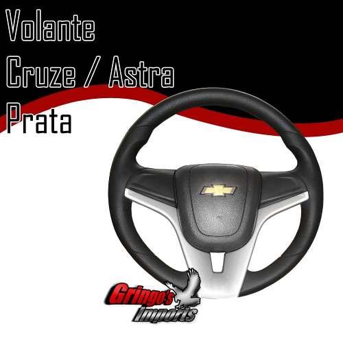 Volante Astra Modelo Cruze Prata