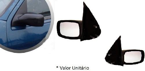 Retrovisor Fiesta 96 97 98 99 00 01 A 02 Fixo + Brinde