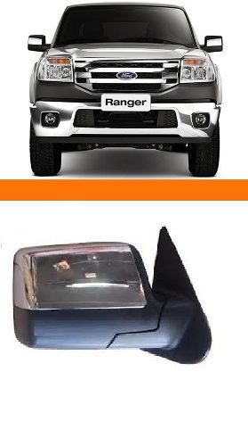 Retrovisor Ranger 2010 2011 2012 Controle Eletrico+ Brinde
