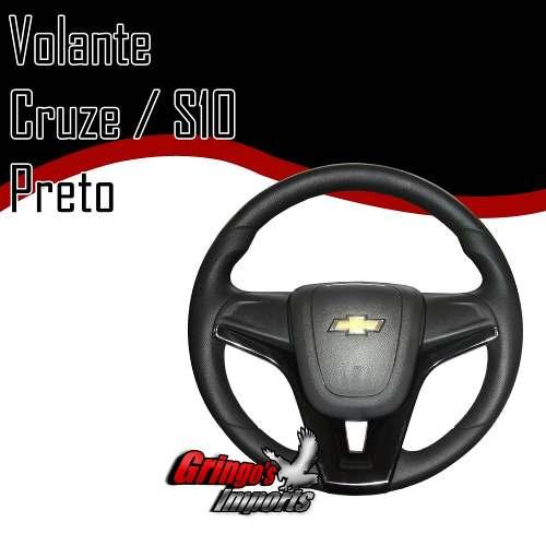 Volante Cruze S10 Preto