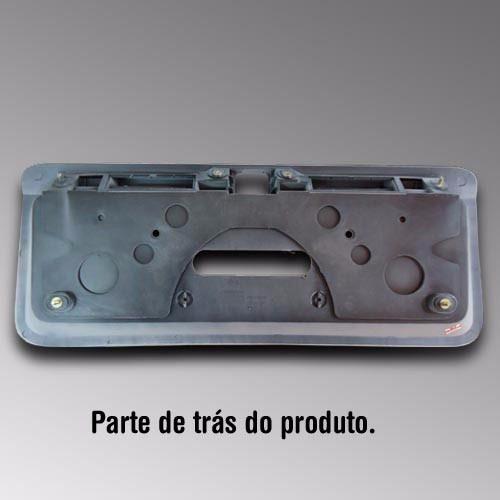 Moldura Placa Vectra 2000 Até 2005 Modelo Original + Brinde