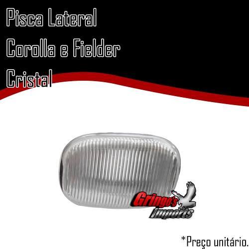 Pisca Paralama Corolla Fielder Hilux Cristal