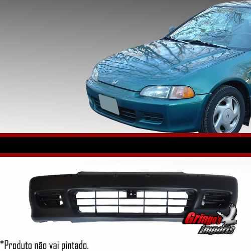 Parachoque Dianteiro Civic 92 A 95 2 Portas Hatch