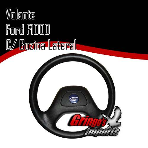Volante Ford F1000 Antiga Buzina Lateral