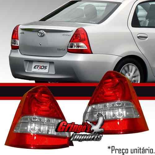 Lanterna Traseira Toyota Etios 2012 2013 Sedan Original